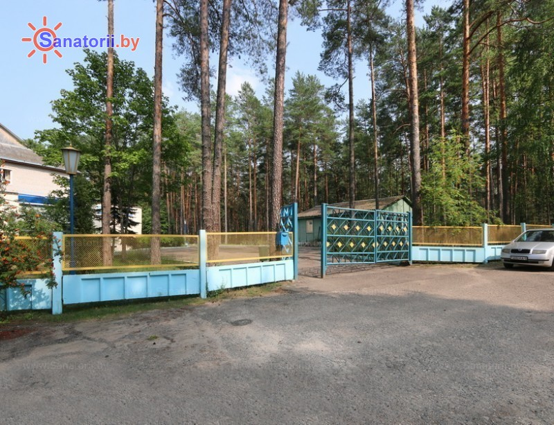 Санатории Белоруссии Беларуси - оздоровительный комплекс Белино - Парковка