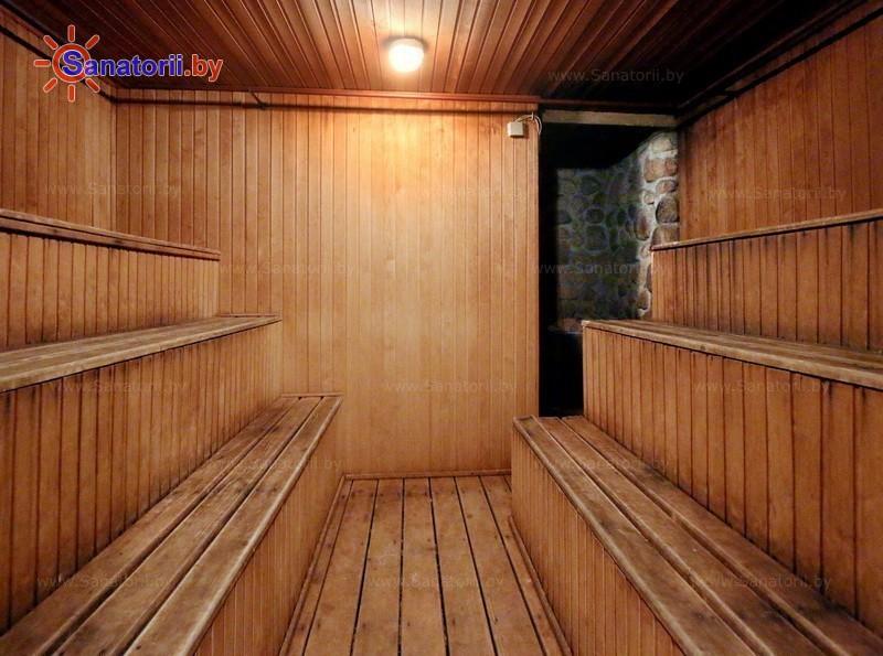 Санатории Белоруссии Беларуси - оздоровительный комплекс Белино - Сауна финская