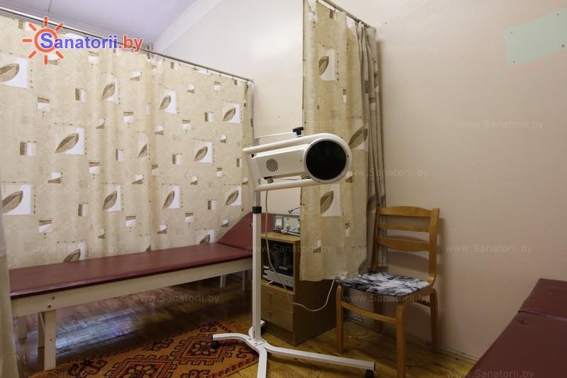 Санатории Белоруссии Беларуси - оздоровительный комплекс Белино - Светолечение
