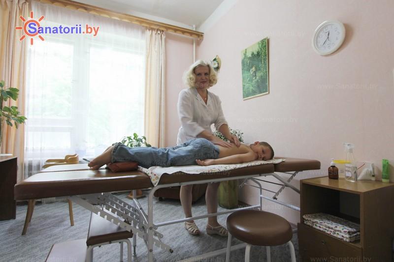 Санатории Белоруссии Беларуси - оздоровительный комплекс Белино - Массаж ручной