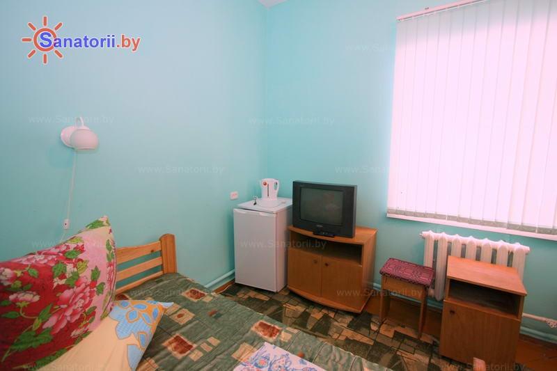 Санатории Белоруссии Беларуси - санаторий Березина - одноместный однокомнатный стандарт (главный корпус)