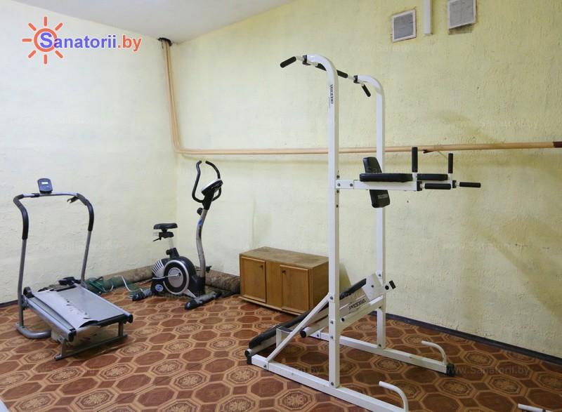 Санатории Белоруссии Беларуси - санаторий Березина - Тренажерный зал (механотерапия)