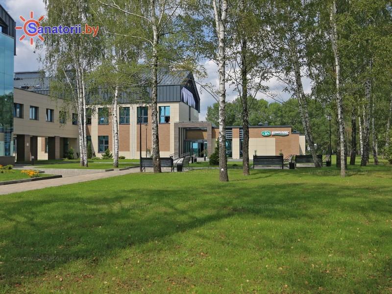 Санатории Белоруссии Беларуси - санаторий Березка - Территория и природа