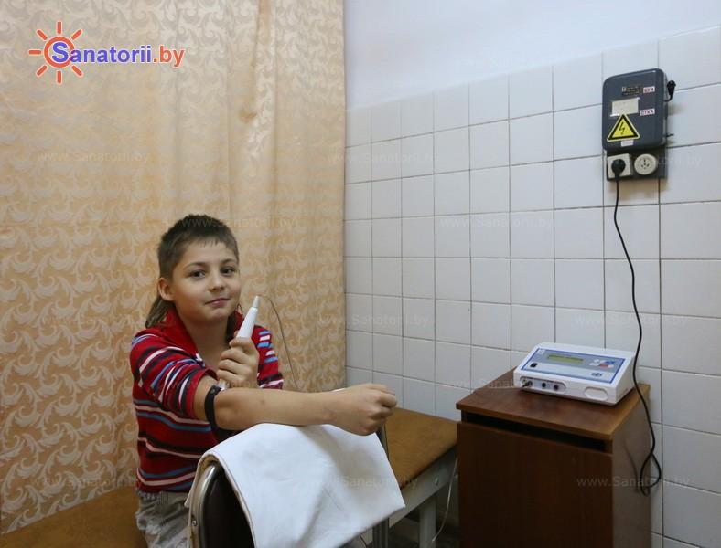 Санатории Белоруссии Беларуси - оздоровительный центр Лазурный - Лазерная терапия
