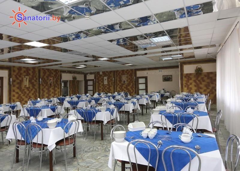 Санатории Белоруссии Беларуси - оздоровительный центр Лазурный - Столовая
