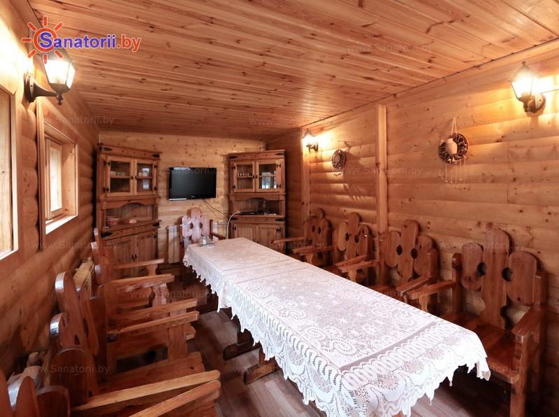 Санатории Белоруссии Беларуси - оздоровительный центр Лазурный - Баня русская