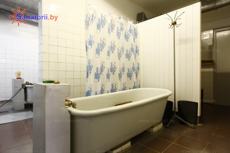 Санатории Белоруссии Беларуси - оздоровительный центр Лазурный - Ванны общие