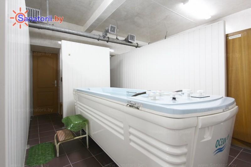 Санатории Белоруссии Беларуси - оздоровительный центр Лазурный - Душ-массаж подводный