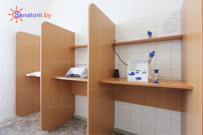 Санатории Белоруссии Беларуси - оздоровительный центр Лазурный - Ингаляции (аэрозольтерапия)