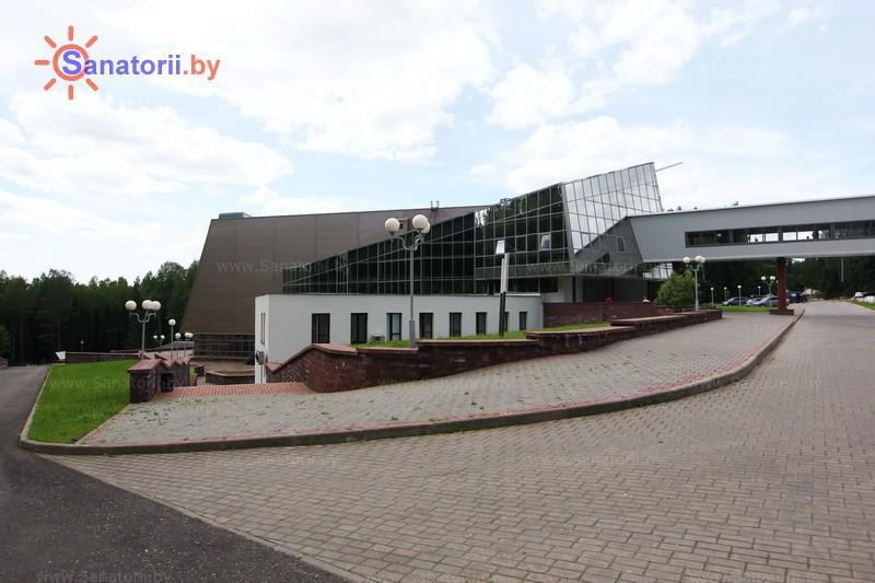 Санатории Белоруссии Беларуси - санаторий Лесное - лечебно-оздоровительный корпус