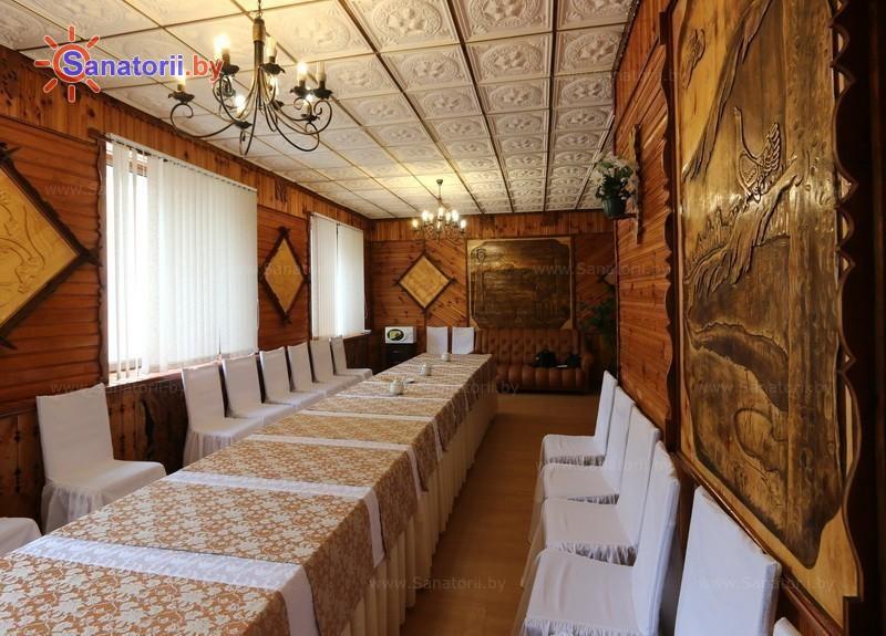 Санатории Белоруссии Беларуси - санаторий Лесное - Банкетный зал