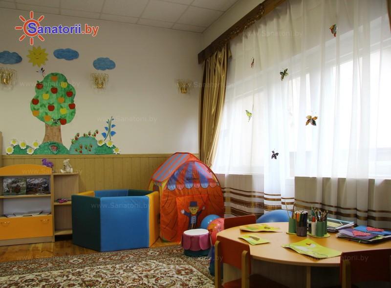 Санатории Белоруссии Беларуси - санаторий Лесное - Детская комната