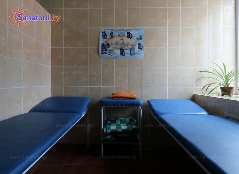 Санатории Белоруссии Беларуси - санаторий Машиностроитель - Озокерито-парафинолечение