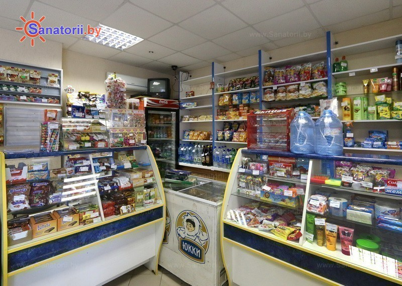 Санатории Белоруссии Беларуси - санаторий Машиностроитель - Магазин
