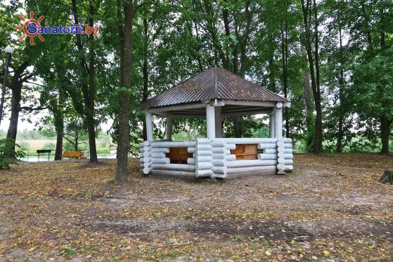 Санатории Белоруссии Беларуси - санаторий Машиностроитель - Площадка для шашлыков