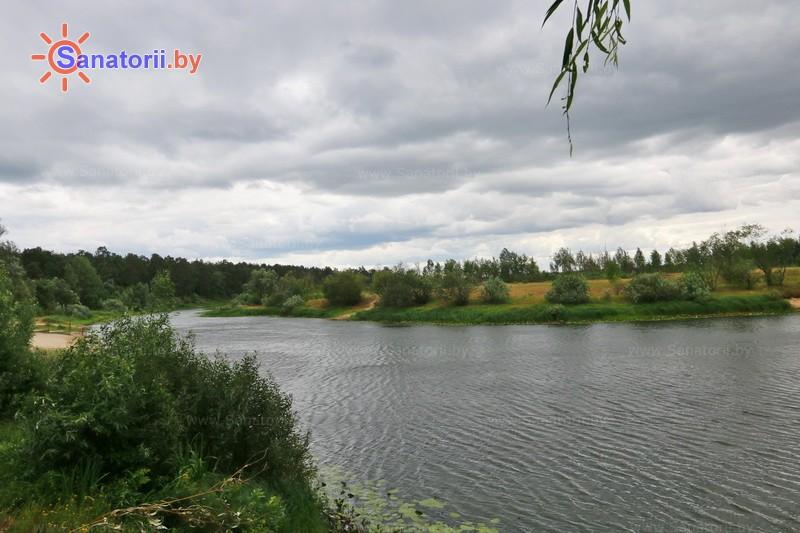 Санатории Белоруссии Беларуси - санаторий Машиностроитель - Водоём