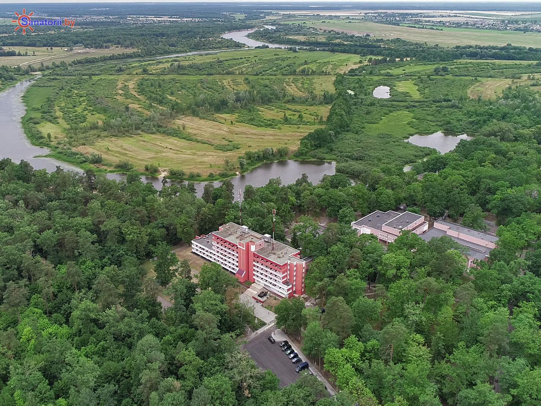 Санатории Белоруссии Беларуси - санаторий Машиностроитель - Территория и природа