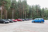 health resort Nadzeya - Parking
