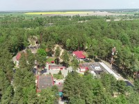санатория Надзея - Территория и природа