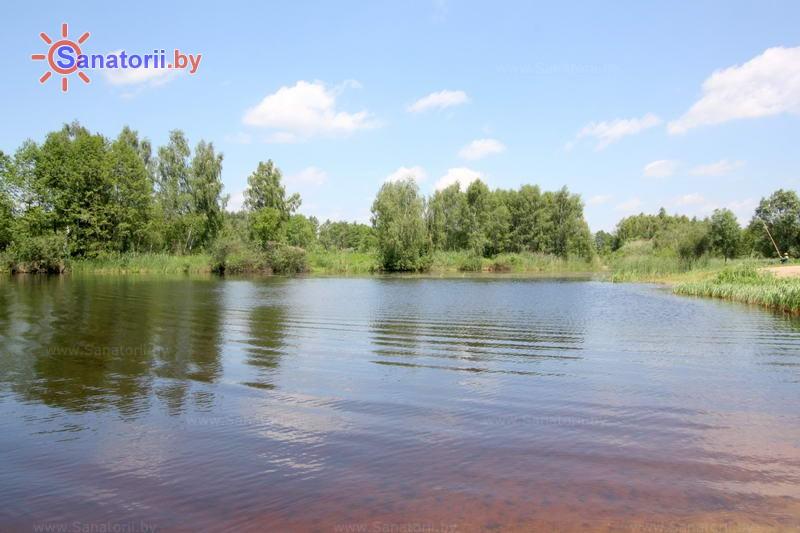 Санатории Белоруссии Беларуси - санаторий Надзея - Водоём
