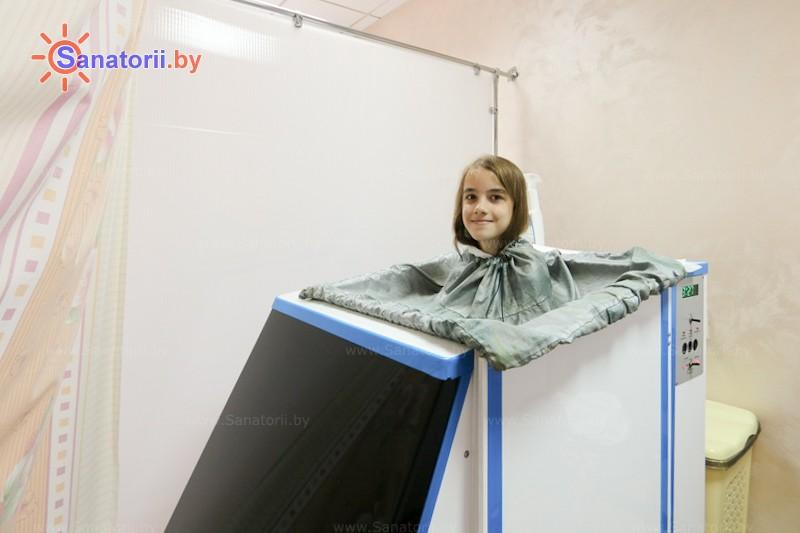 Санатории Белоруссии Беларуси - санаторий Надзея - Ванна сухая углекислая