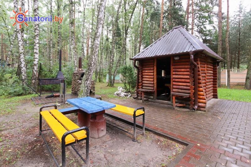 Санатории Белоруссии Беларуси - санаторий Надзея - Территория и природа