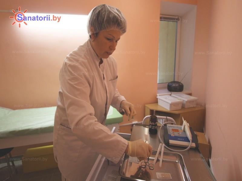 Санатории Белоруссии Беларуси - санаторий Приморский - Карбокситерапия (газовые уколы)