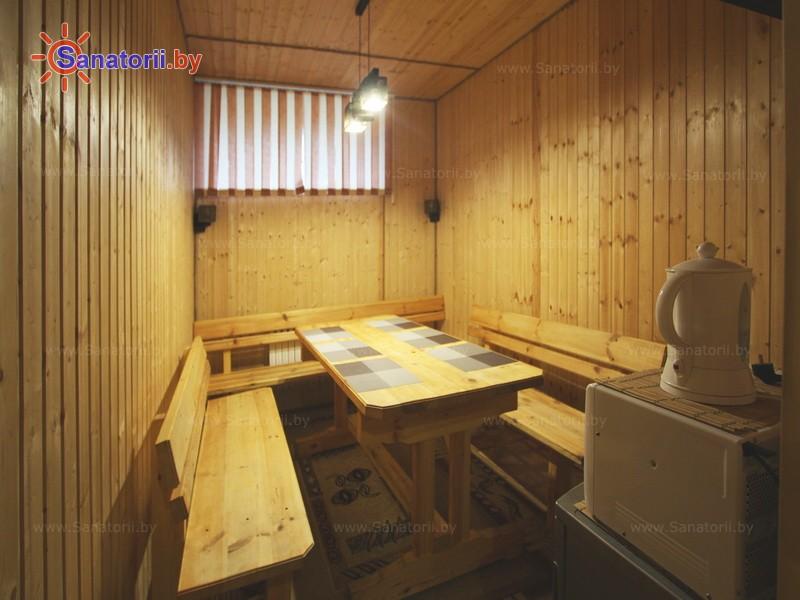 Санатории Белоруссии Беларуси - санаторий Приморский - Сауна финская