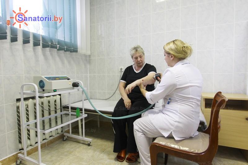 Санатории Белоруссии Беларуси - санаторий Пралеска - Криотерапия