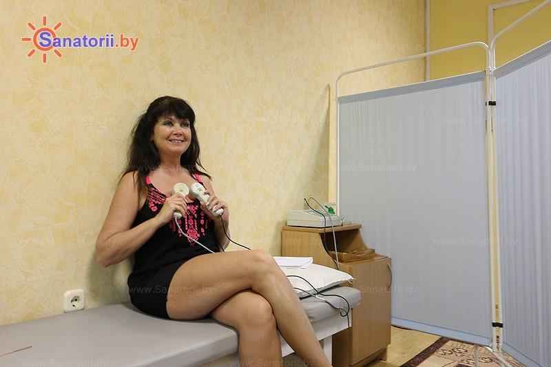 Санатории Белоруссии Беларуси - санаторий Пралеска - Лазерная терапия