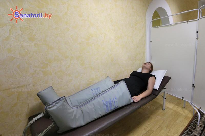 Санатории Белоруссии Беларуси - санаторий Пралеска - Компрессионная терапия