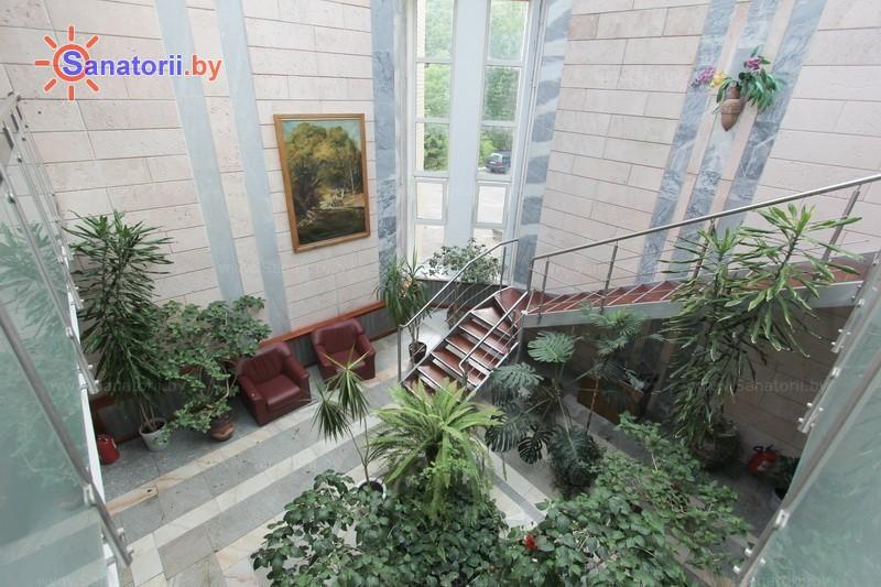 Санатории Белоруссии Беларуси - санаторий Пралеска - Зимний сад