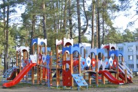 health resort Serebryanie Klyuchi - Playground for children