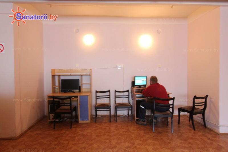 Санатории Белоруссии Беларуси - санаторий Серебряные ключи - Интернет
