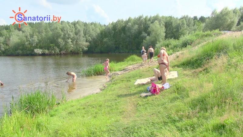Санатории Белоруссии Беларуси - санаторий Серебряные ключи - Пляж