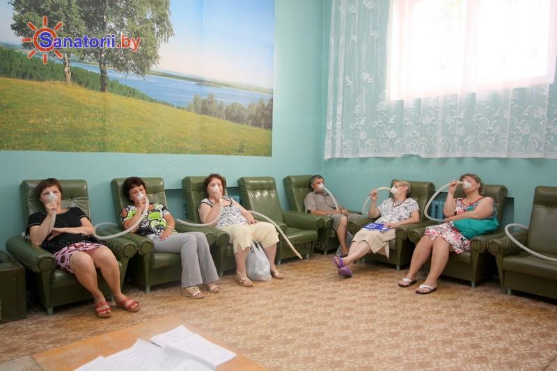 Санатории Белоруссии Беларуси - санаторий Серебряные ключи - Нормобарическая гипокситерапия