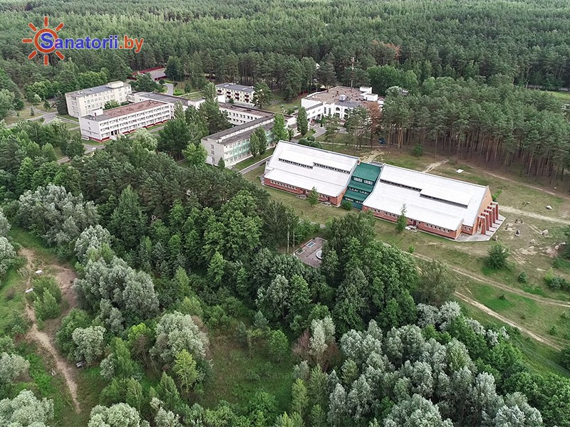 Санатории Белоруссии Беларуси - санаторий Серебряные ключи - Территория и природа