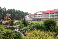 санатория Сосны - Территория и природа