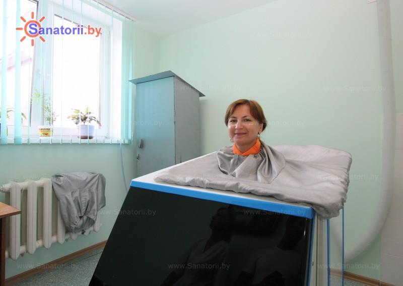 Санатории Белоруссии Беларуси - санаторий Сосны - Ванна сухая углекислая