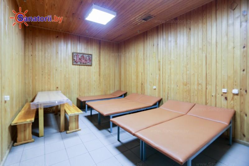 Санатории Белоруссии Беларуси - санаторий Сосны - Сауна финская