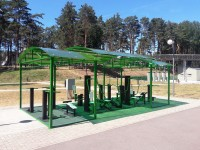 health resort Sputnik - Outdoor gym