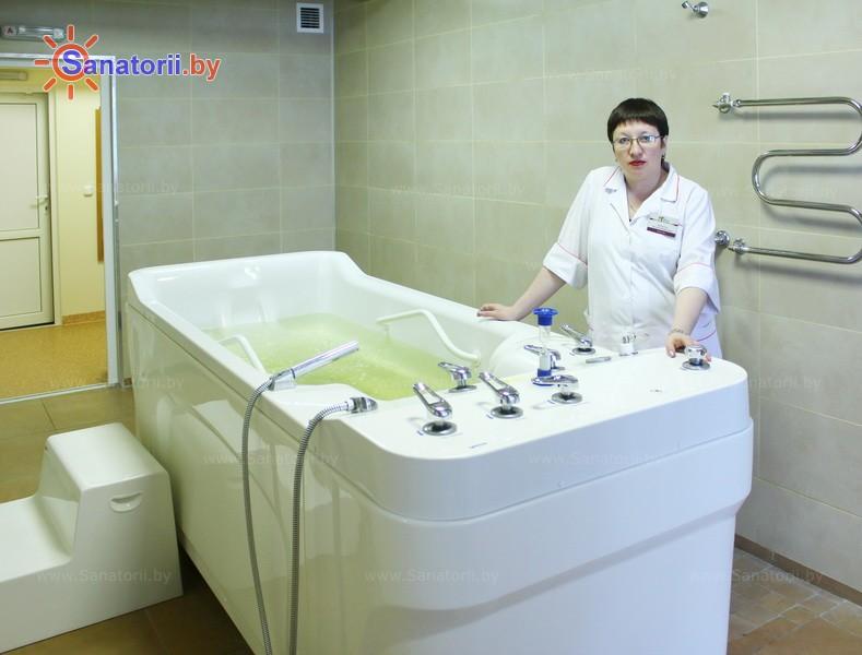 Санатории Белоруссии Беларуси - санаторий Спутник - Ванны скипидарные