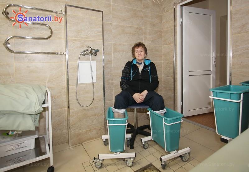 Санатории Белоруссии Беларуси - санаторий Спутник - Грязелечение (пелоидотерапия)