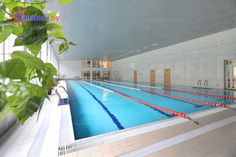 Health resort of Belarus - health resort Sputnik - Swimming pool