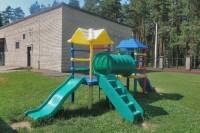 health resort Naftan - Playground for children