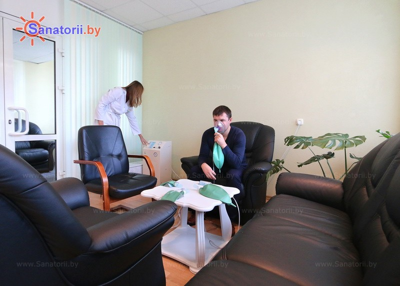 Санатории Белоруссии Беларуси - санаторий Нафтан - Нормобарическая гипокситерапия