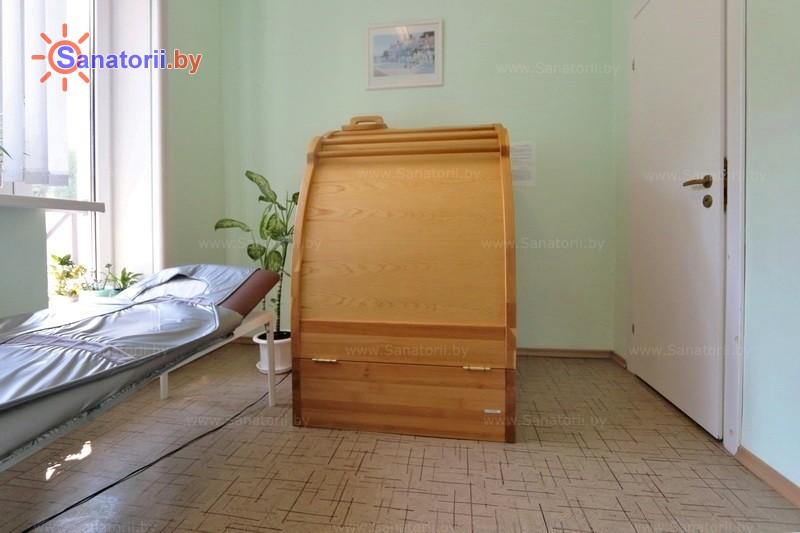 Санатории Белоруссии Беларуси - санаторий Нафтан - Сауна-мини Кедровая бочка