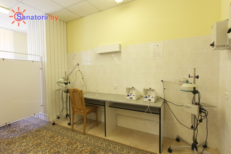 Санатории Белоруссии Беларуси - санаторий Нафтан - Ингаляции (аэрозольтерапия)