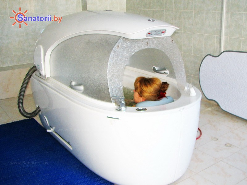 Санатории Белоруссии Беларуси - санаторий Нафтан - Реабилитационная капсула (СПА-капсула)