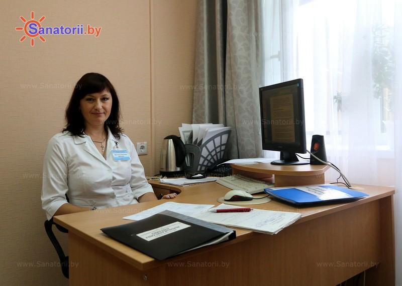 Санатории Белоруссии Беларуси - санаторий Энергетик - Кабинеты профильных специалистов